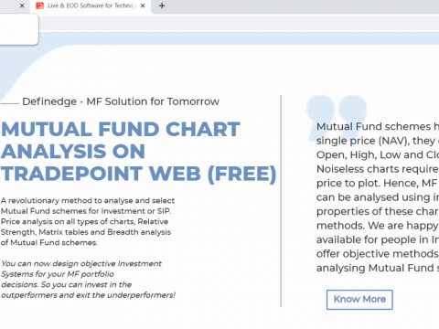 Mutual Fund Data on TradePoint Web